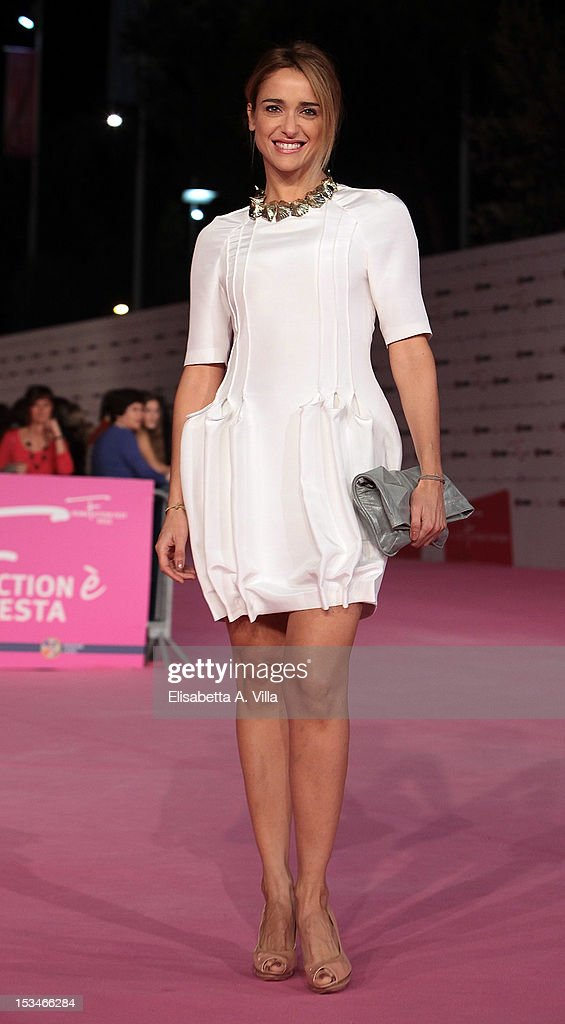 Actress Eleonora Sergio attends the 2012 RomaFictionFest Closing Cerimony at Auditorium Parco della Musica on October 5, 2012 in Rome, Italy.