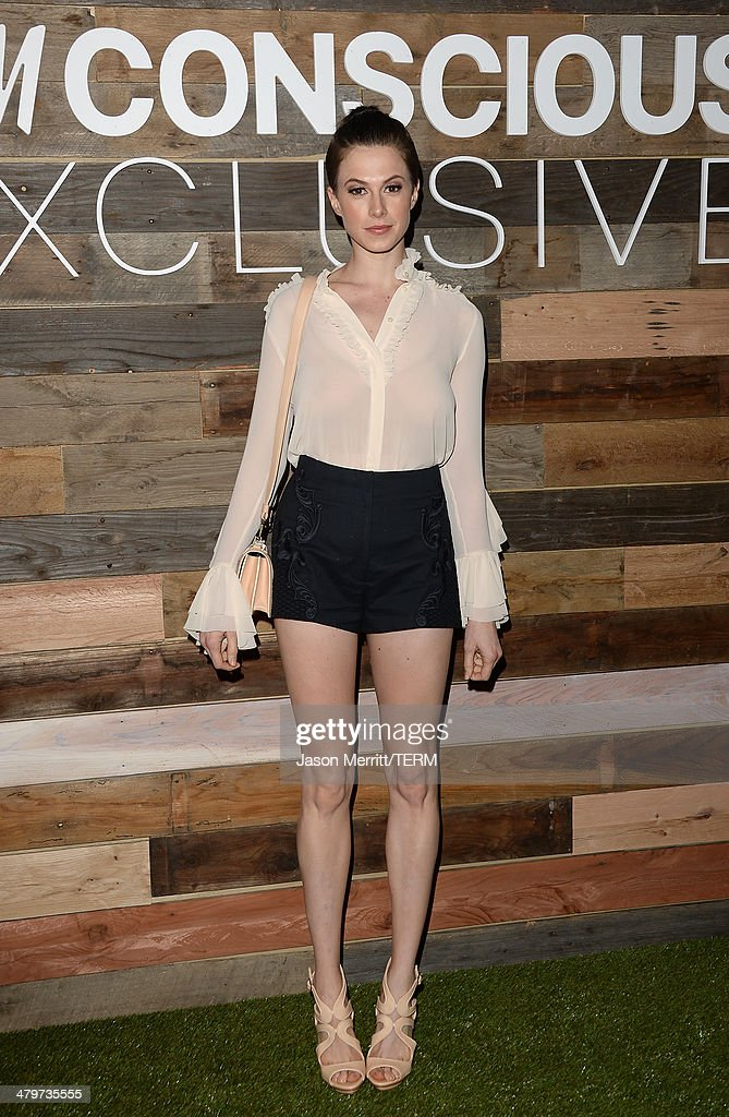 Actress Elettra Wiedemann attends the H&M Conscious Collection dinner at Eveleigh on March 19, 2014 in West Hollywood, California.