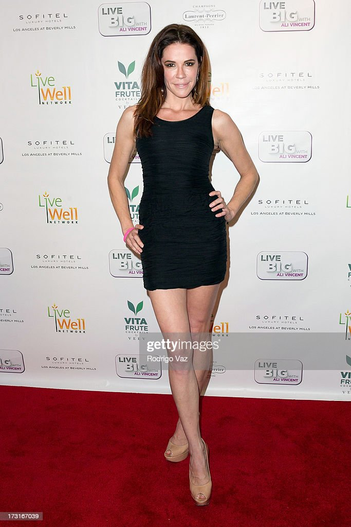 Actress Elina Madison arrives at 'Live Big With Ali Vincent' Season 3 launch party at Sofitel Hotel on July 8, 2013 in Los Angeles, California.