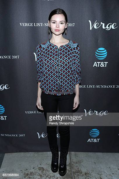 Actress Eline Powell attends DIRECTV Verge 5th Anniversary Sundance Party 2017 at Audience at The Cafe on January 21 2017 in Park City Utah