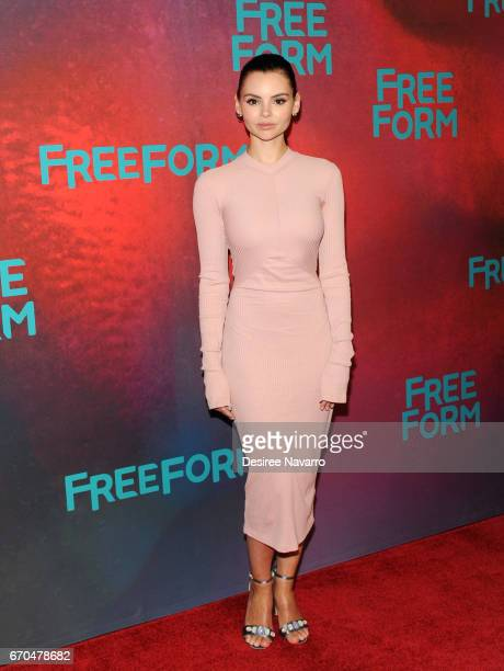 Actress Eline Powell attends Freeform 2017 Upfront at Hudson Mercantile on April 19 2017 in New York City