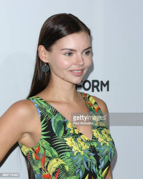 Actress Eline Powell attends the 2017 ABC/Disney Media Distribution International Upfront at Walt Disney Studio Lot on May 21 2017 in Burbank...