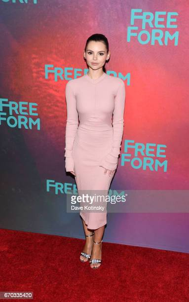Actress Eline Powell of 'Siren' attends Freeform 2017 Upfront at Hudson Mercantile on April 19 2017 in New York City
