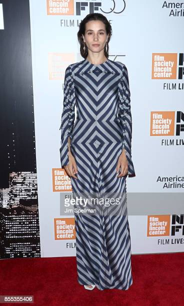 Actress Elisa Lasowski attends 55th New York Film Festival opening night premiere of 'Last Flag Flying' at Alice Tully Hall Lincoln Center on...