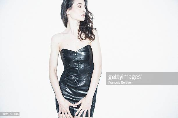 Actress Elisa Lasowski is photographed for Self Assignment on April 10 2015 in Paris France