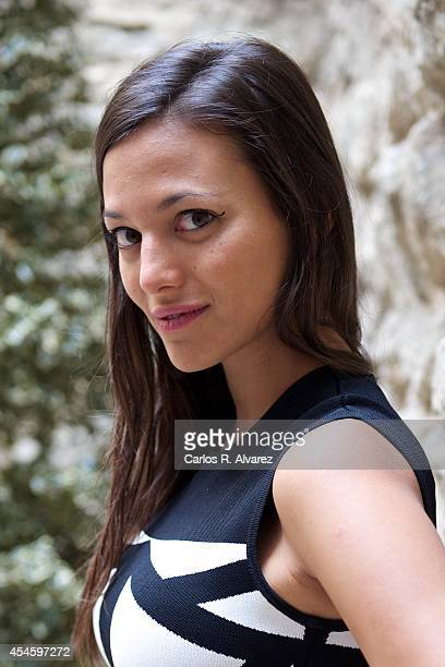 Actress Elisa Mouliaa attends the 'Cielo con Diamantes' photocall at the Villa Suso Palace during the 6th FesTVal Television Festival 2014 day 4 on...