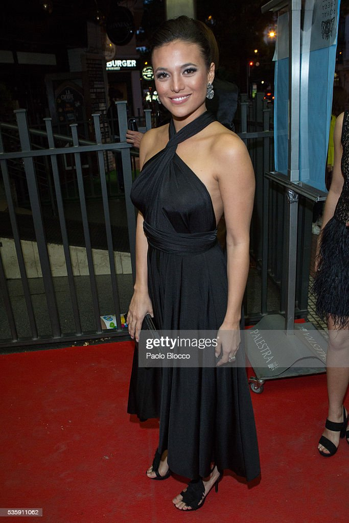 Actress <a gi-track='captionPersonalityLinkClicked' href=/galleries/search?phrase=Elisa+Mouliaa&family=editorial&specificpeople=7068487 ng-click='$event.stopPropagation()'>Elisa Mouliaa</a> is seen arriving to 'Nuestros Amantes' premiere at Palafox Cinema on May 30, 2016 in Madrid, Spain.