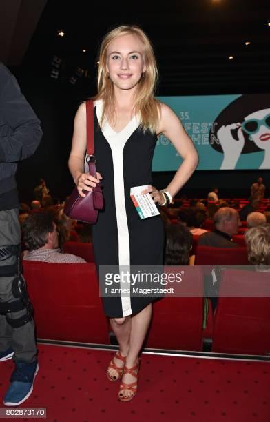 Actress Elisa Schlott attends the 'Fremde Tochter' Premiere during Film Festival Munich 2017 at Arri Kino on June 28 2017 in Munich Germany