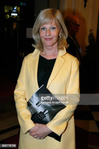 Actress Elisa Servier attends the 'Enfance Majuscule 2017' Charity Gala for the benefit of abused childhood Held at Salle Gaveau on March 20 2017 in...