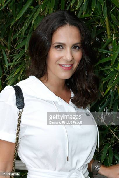 Actress Elisa Tovati attends the 2017 French Tennis Open Day Seven at Roland Garros on June 3 2017 in Paris France