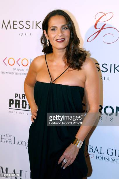Actress Elisa Tovati attends the 'Global Gift the Eva Foundation' Gala Photocall at Hotel George V on May 16 2017 in Paris France