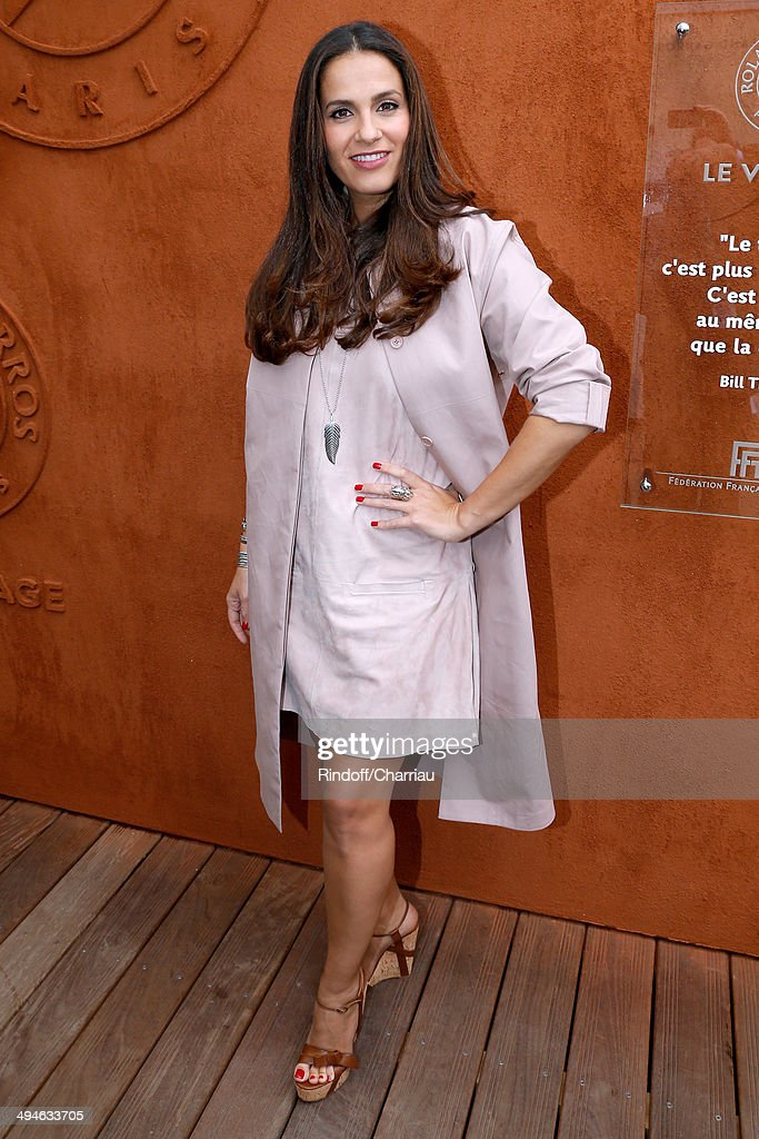 Celebrities At French Open 2014 : Day 6