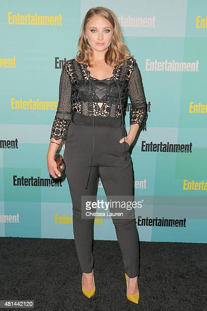 Actress Elisabeth Harnois arrives at the Entertainment Weekly celebration at Float at Hard Rock Hotel San Diego on July 11 2015 in San Diego...