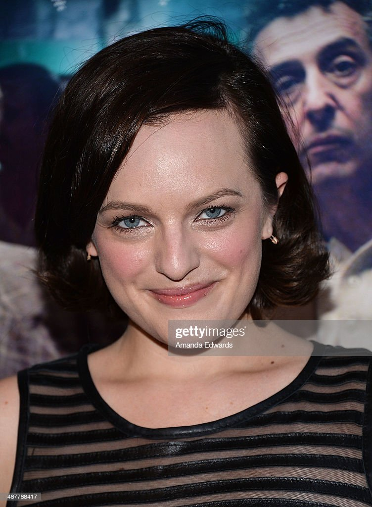 Actress <a gi-track='captionPersonalityLinkClicked' href=/galleries/search?phrase=Elisabeth+Moss&family=editorial&specificpeople=3079265 ng-click='$event.stopPropagation()'>Elisabeth Moss</a> arrives at the Film Independent at LACMA screening and Q&A of 'God's Pocket' at the Bing Theatre at LACMA on May 1, 2014 in Los Angeles, California.
