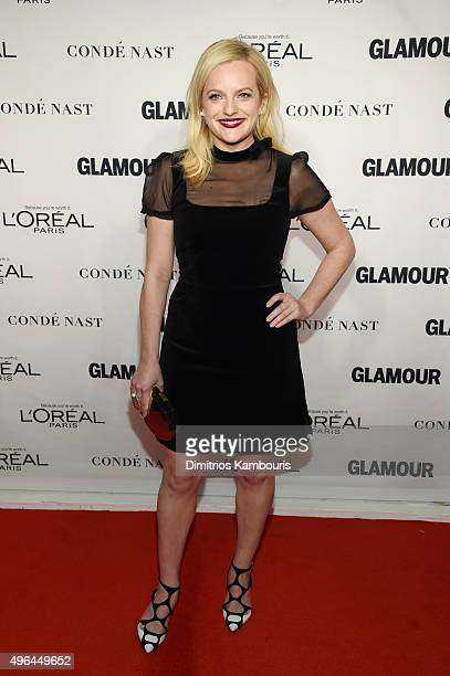 Actress Elisabeth Moss attends 2015 Glamour Women Of The Year Awards at Carnegie Hall on November 9 2015 in New York City