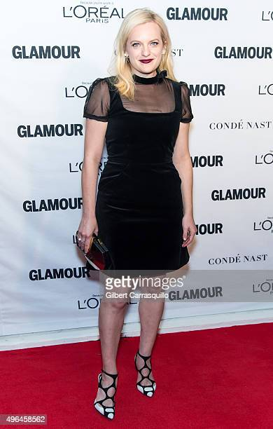 Actress Elisabeth Moss attends Glamour's 25th Anniversary Women Of The Year Awards at Carnegie Hall on November 9 2015 in New York City