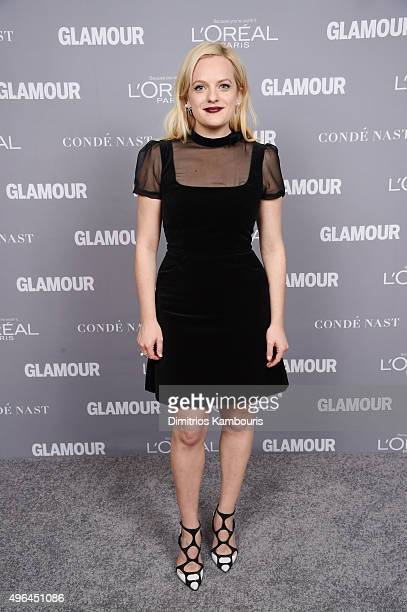 Actress Elisabeth Moss attends the 2015 Glamour Women Of The Year Awards at Carnegie Hall on November 9 2015 in New York City