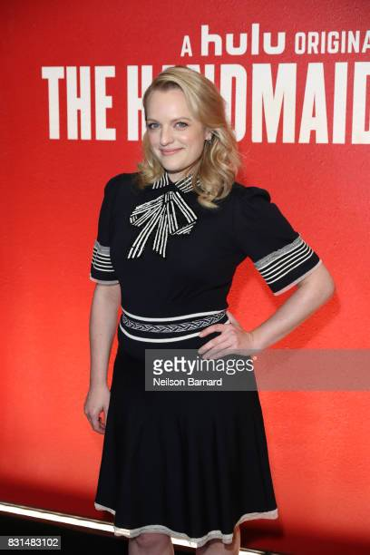 Actress Elisabeth Moss attends the FYC Event For Hulu's 'The Handmaid's Tale' at DGA Theater on August 14 2017 in Los Angeles California