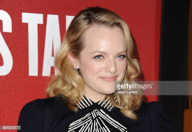 Actress Elisabeth Moss attends 'The Handmaid's Tale' FYC event at DGA Theater on August 14 2017 in Los Angeles California