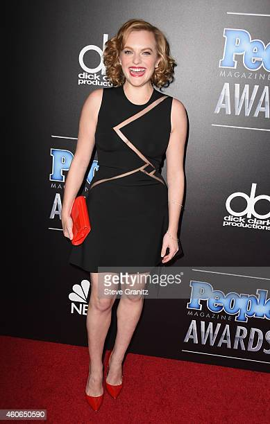 Actress Elisabeth Moss attends the PEOPLE Magazine Awards at The Beverly Hilton Hotel on December 18 2014 in Beverly Hills California