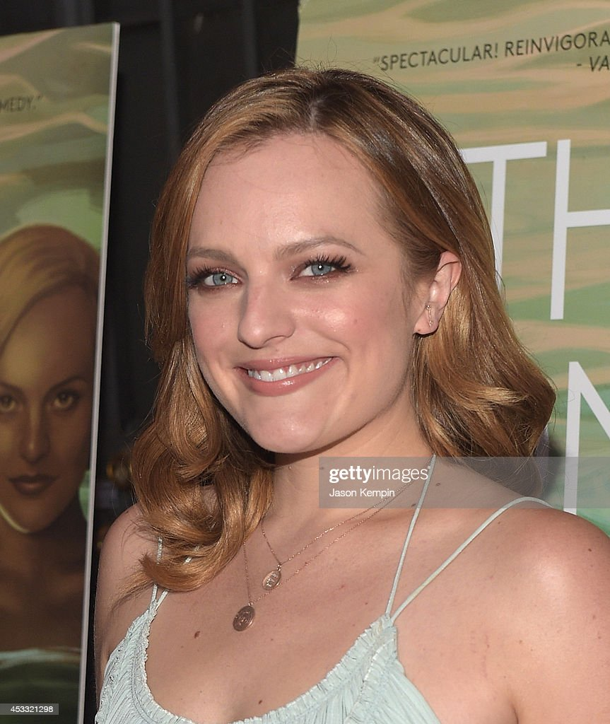 Actress <a gi-track='captionPersonalityLinkClicked' href=/galleries/search?phrase=Elisabeth+Moss&family=editorial&specificpeople=3079265 ng-click='$event.stopPropagation()'>Elisabeth Moss</a> attends the premiere of RADiUS-TWC's 'The One I Love' at the Vista Theatre on August 7, 2014 in Los Angeles, California.