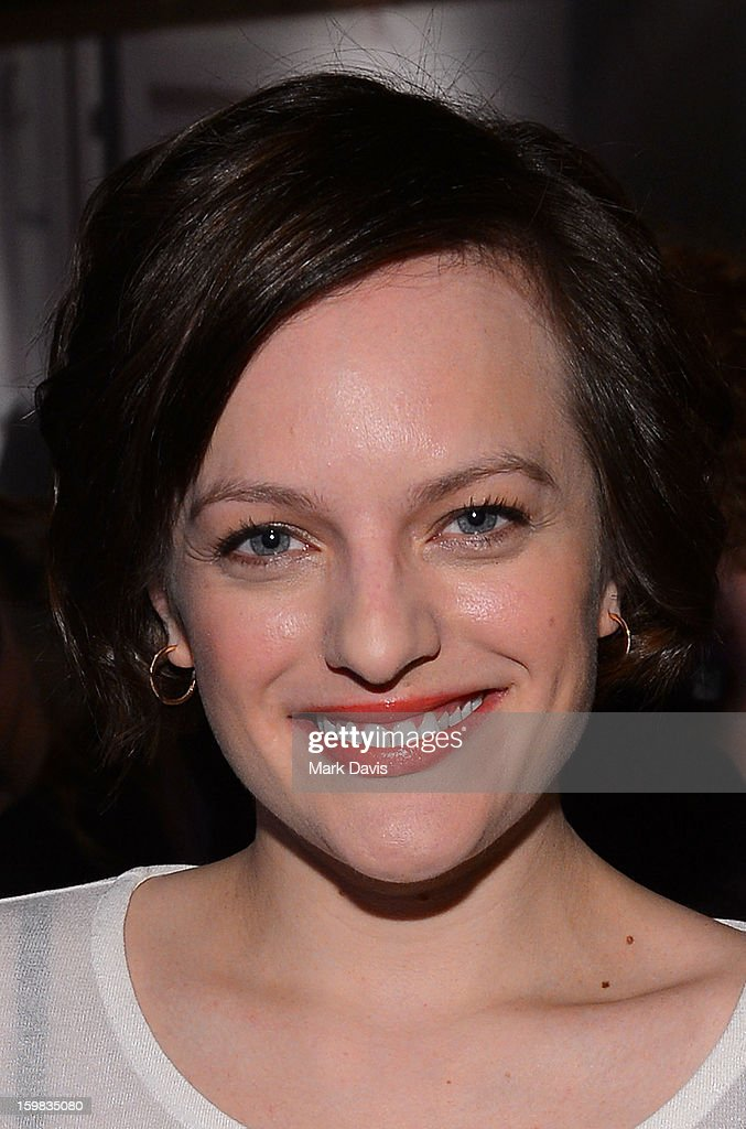 Actress <a gi-track='captionPersonalityLinkClicked' href=/galleries/search?phrase=Elisabeth+Moss&family=editorial&specificpeople=3079265 ng-click='$event.stopPropagation()'>Elisabeth Moss</a> attends the press conference for Sundance Channel original series 'Top of the Lake' on January 21, 2013 in Park City, Utah.