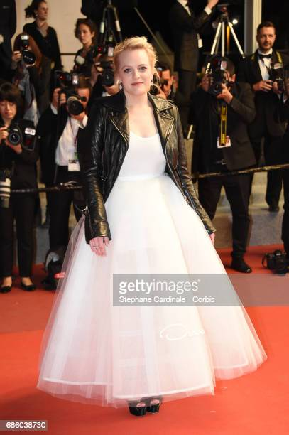 Actress Elisabeth Moss attends the 'The Square' screening during the 70th annual Cannes Film Festival at Palais des Festivals on May 20 2017 in...