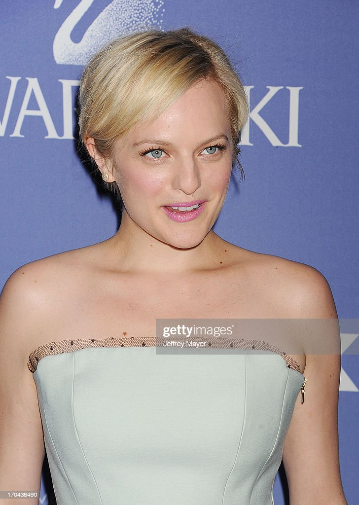 Actress Elisabeth Moss attends Women In Film's 2013 Crystal + Lucy Awards at The Beverly Hilton Hotel on June 12, 2013 in Beverly Hills, California.
