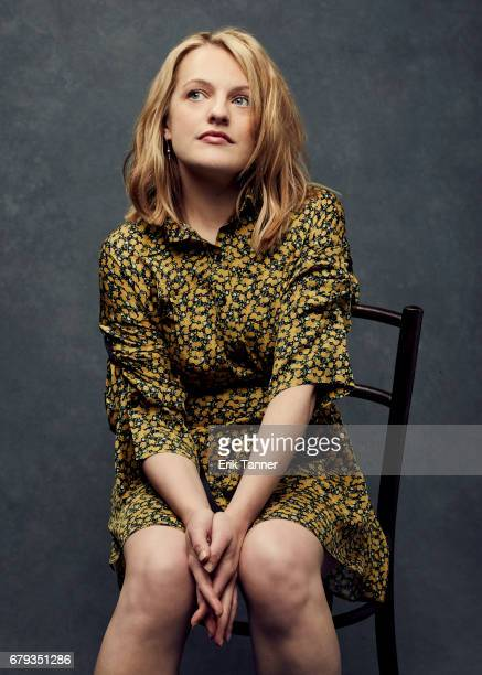 Actress Elisabeth Moss from 'Tokyo Project' pose at the 2017 Tribeca Film Festival portrait studio on April 22 2017 in New York City
