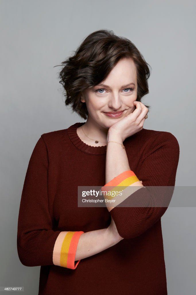 Actress Elisabeth Moss is photographed for Entertainment Weekly Magazine on January 25, 2014 in Park City, Utah.