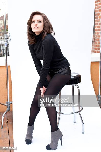 Actress Elizabeth Moss is photographed for Self Assignment on December 15 2011 in Los Angeles California Venus Stock ID VSRB1600724011