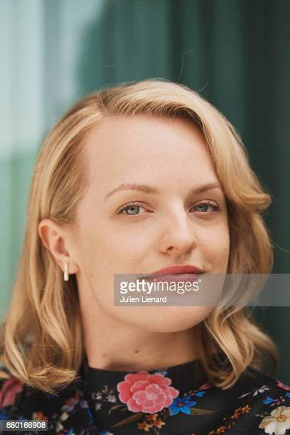 Actress Elisabeth Moss is photographed for Self Assignment on May 24 2017 in Cannes France