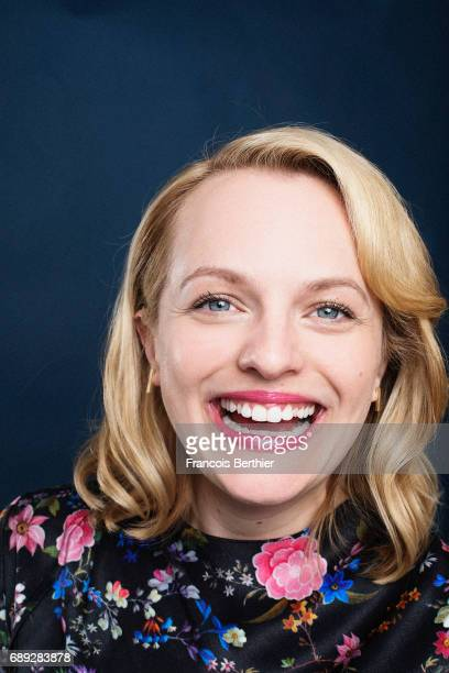 Actress Elisabeth Moss is photographed on May 24 2017 in Cannes France