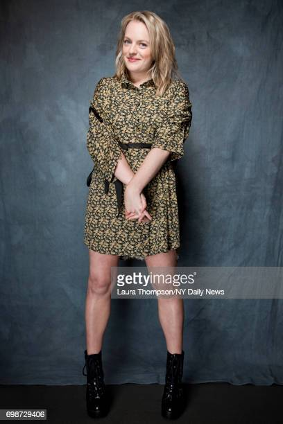 Actress Elisabeth Moss photographed for NY Daily News on April 22 in New York City