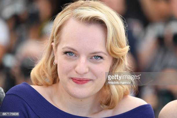 US actress Elisabeth Moss pose poses during a photocall for the film Top Of The Lake China Girl photocall out of competition at the 70th annual...
