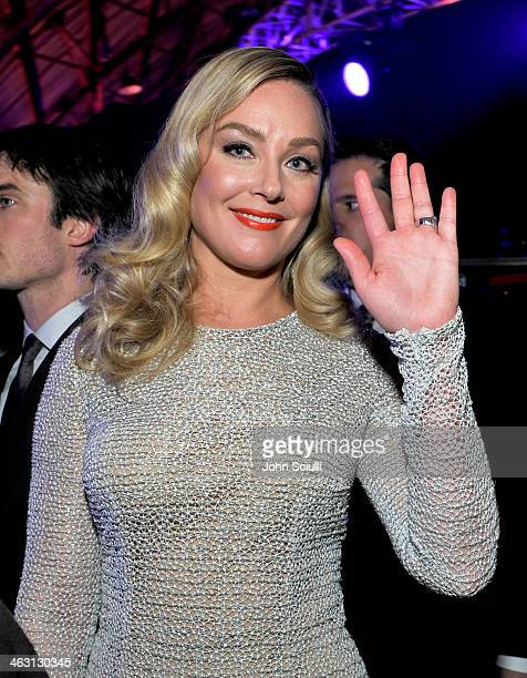 Actress Elisabeth Röhm attends the 19th Annual Critics' Choice Movie Awards at Barker Hangar on January 16 2014 in Santa Monica California