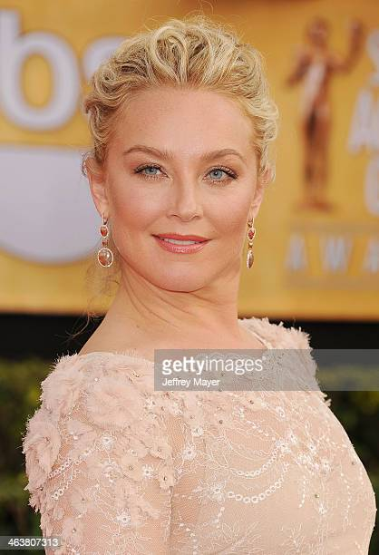Actress Elisabeth Rohm arrives at the 20th Annual Screen Actors Guild Awards at The Shrine Auditorium on January 18 2014 in Los Angeles California
