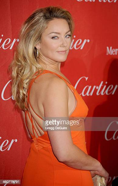 Actress Elisabeth Rohm arrives at the 25th Annual Palm Springs International Film Festival Awards Gala at Palm Springs Convention Center on January 4...