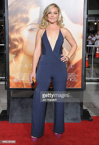 Actress Elisabeth Rohm arrives at the Los Angeles Premiere Of Focus Features' 'The Danish Girl' at Westwood Village Theatre on November 21 2015 in...