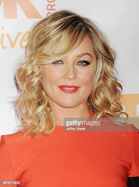 Actress Elisabeth Rohm arrives at TrevorLIVE Los Angeles at Hollywood Palladium on December 7 2014 in Los Angeles California