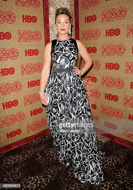 Actress Elisabeth Rohm attends HBO's Golden Globe Awards after party at Circa 55 Restaurant on January 12 2014 in Los Angeles California