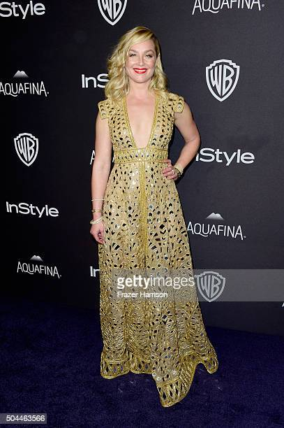 Actress Elisabeth Rohm attends InStyle and Warner Bros 73rd Annual Golden Globe Awards PostParty at The Beverly Hilton Hotel on January 10 2016 in...