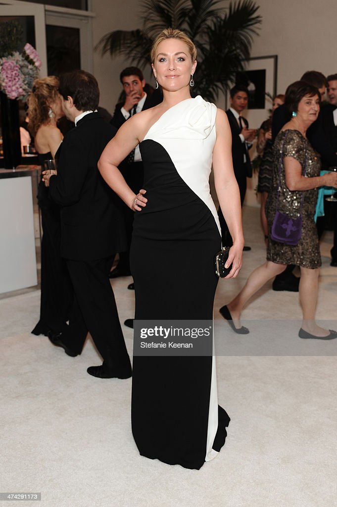Actress <a gi-track='captionPersonalityLinkClicked' href=/galleries/search?phrase=Elisabeth+Rohm&family=editorial&specificpeople=203139 ng-click='$event.stopPropagation()'>Elisabeth Rohm</a> attends the 16th Costume Designers Guild Awards with presenting sponsor Lacoste at The Beverly Hilton Hotel on February 22, 2014 in Beverly Hills, California.