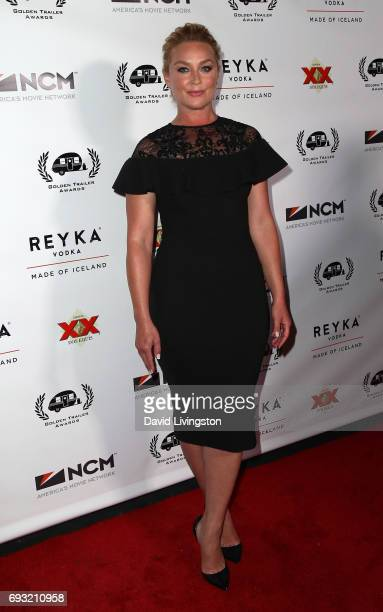 Actress Elisabeth Rohm attends the 18th Annual Golden Trailer Awards at the Saban Theatre on June 6 2017 in Beverly Hills California