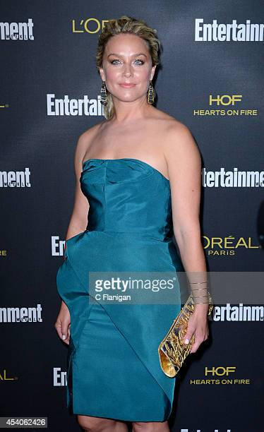 Actress Elisabeth Rohm attends the 2014 Entertainment Weekly PreEmmy Party at Fig Olive Melrose Place on August 23 2014 in West Hollywood California