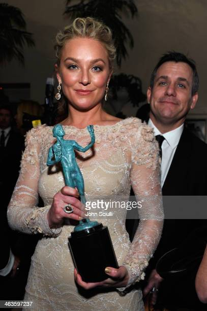 Actress Elisabeth Rohm attends the 20th Annual Screen Actors Guild Awards at The Shrine Auditorium on January 18 2014 in Los Angeles California