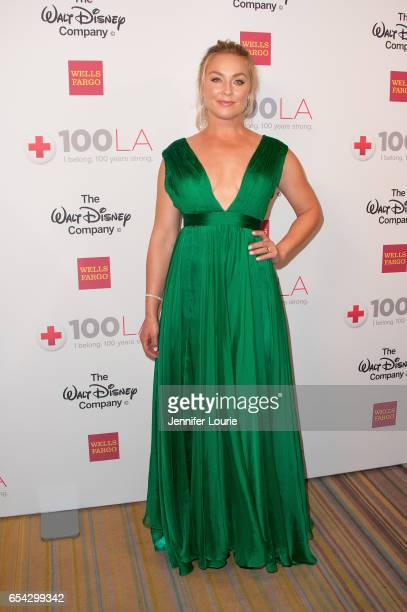 Actress Elisabeth Rohm attends the American Red Cross Centennial Celebration to Honor Disney as the 'Humanitarian Company of The Year' at the Beverly...