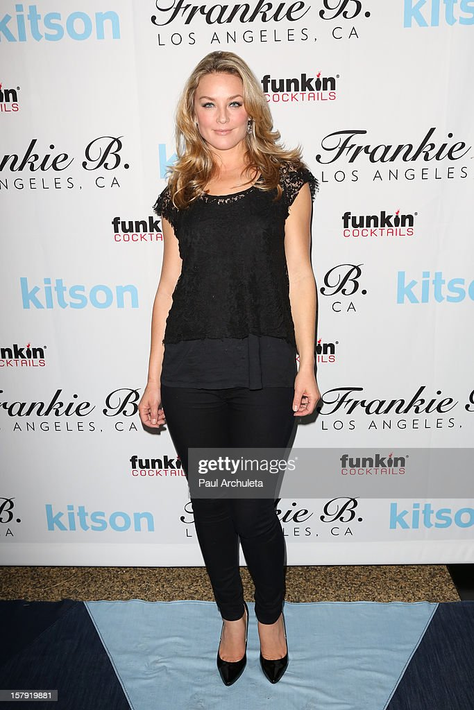 Actress Elisabeth Rohm attends the Get Festive With Frankie B. and Kitson event at Kitson on Roberston on December 6, 2012 in Beverly Hills, California.