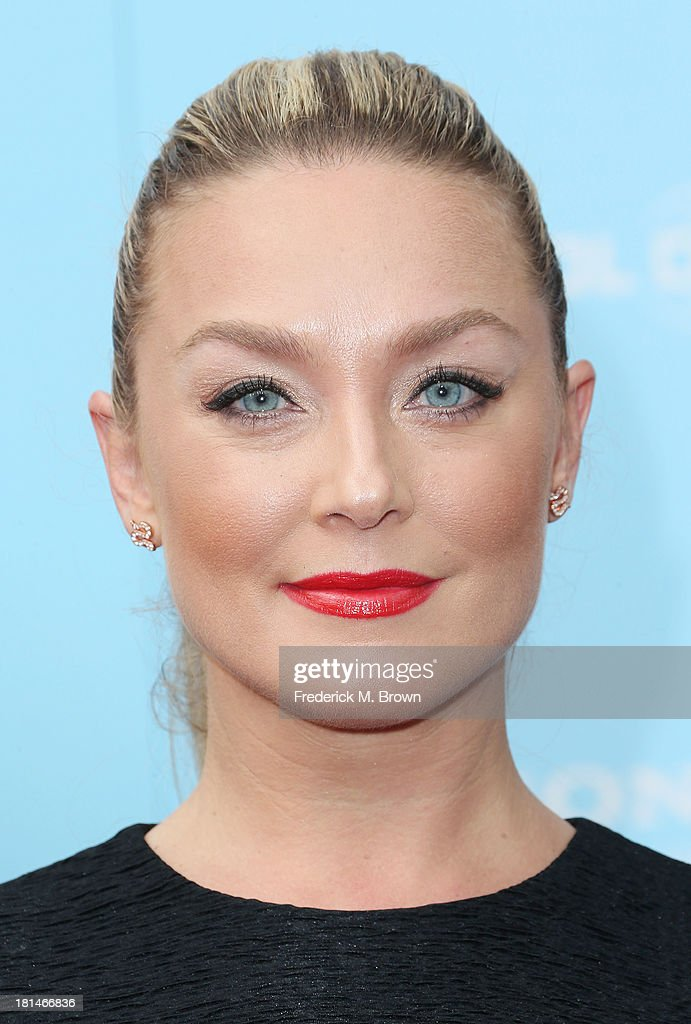 Actress Elizabeth Rohm attends the premiere of Columbia Pictures and Sony Pictures Animation's 'Cloudy With A Chance of Meatballs 2' at the Regency Village Theatre on September 21, 2013 in Westwood, California.