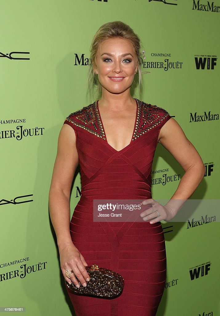 Actress <a gi-track='captionPersonalityLinkClicked' href=/galleries/search?phrase=Elisabeth+Rohm&family=editorial&specificpeople=203139 ng-click='$event.stopPropagation()'>Elisabeth Rohm</a> attends the Women In Film Pre-Oscar Cocktail Party presented by Perrier-Jouet, MAC Cosmetics & MaxMara at Fig & Olive Melrose Place on February 28, 2014 in West Hollywood, California.